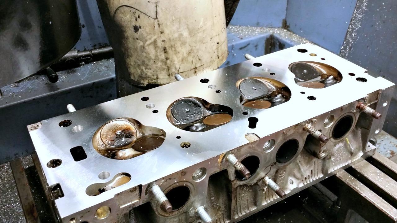 Cylinder Head Resurfacing : Performance head engineering cylinder skimming